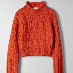 NWOT Aritzia Wilfred Free Annika crop sweater